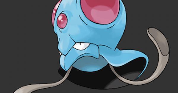 Tentacool Evolve